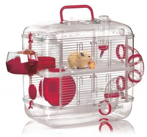 duo hamster cage