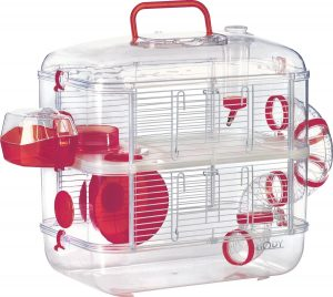 hamster cage duo