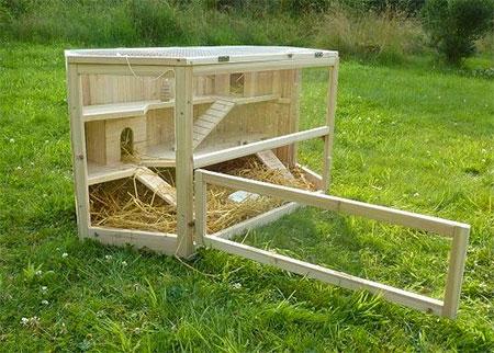 cage pas cher en bois pour hamster