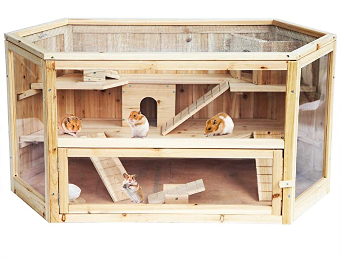 cage grande taille hamster